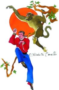 scimmia (ris.72 con firma)